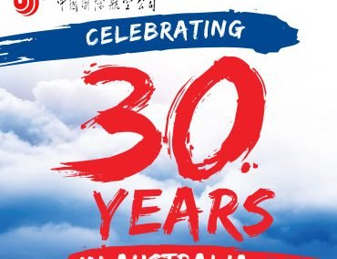 Air China – Celebrating 30 Years in Australia